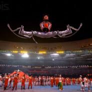 Jumping Stilts At The Beijing 2008 Olympics