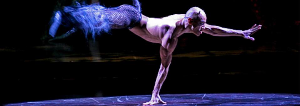 Jesus Half Animal Villa On Stage Cirque Du Soleil: Zumanity