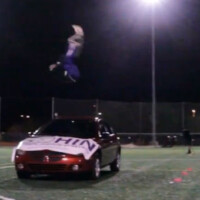 Jesus Half Animal Villa sets new Guinness World Record: Longest front flip over a vehicle