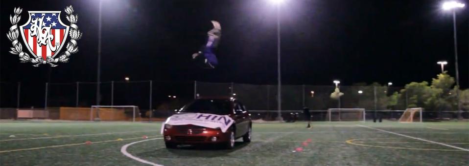 Jesus Half Animal Villa sets new Guinness World Record: Longest front flip over a vehicle